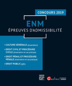 ENM - épreuves d'admissibilité - Gualino