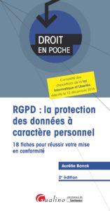 RGPD - Droit en Poche - Gualino