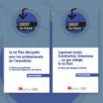 Ouvrages Loi Elan - Droit en poche - Gualino
